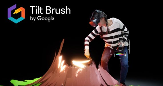 tilt brush destacada pousta
